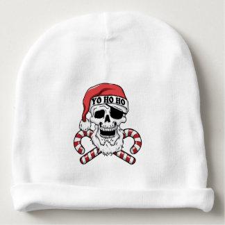 Yo ho ho - pirate santa - funny santa claus baby beanie