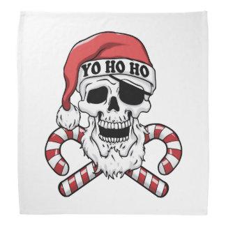 Yo ho ho - pirate santa - funny santa claus bandana