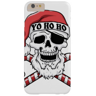 Yo ho ho - pirate santa - funny santa claus barely there iPhone 6 plus case