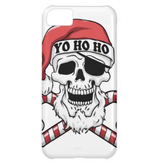 Yo ho ho - pirate santa - funny santa claus cover for iPhone 5C