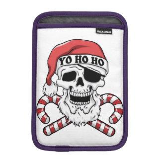 Yo ho ho - pirate santa - funny santa claus iPad mini sleeve
