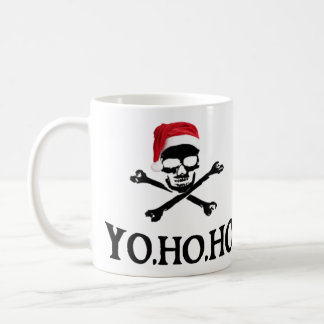 Yo Ho Ho Pirate Santa Mug