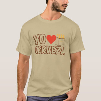 Yo Love Cerveza T-Shirt