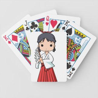 Yo! Miyako English story Omiya Saitama Yuru-chara Bicycle Playing Cards