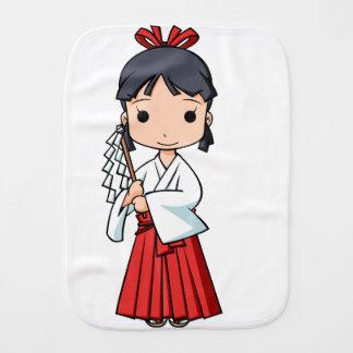 Yo! Miyako English story Omiya Saitama Yuru-chara Burp Cloth