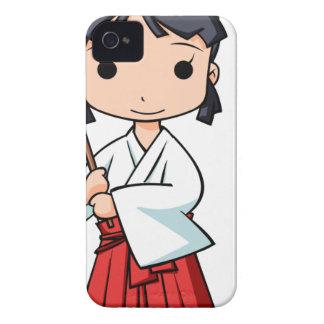 Yo! Miyako English story Omiya Saitama Yuru-chara iPhone 4 Case-Mate Case
