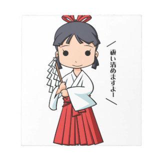 Yo! Miyako English story Omiya Saitama Yuru-chara Notepad