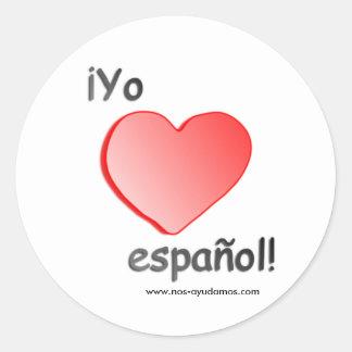 Yo quiero español Stickers