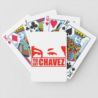 Yo Soy Chávez - Hugo Chávez - Venezuela Bicycle Playing Cards