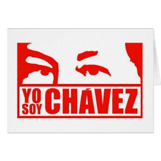 Yo Soy Chávez - Hugo Chávez - Venezuela Card