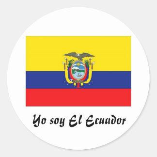 Yo soy El Ecuador sticker