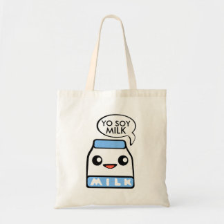 Yo Soy Milk Kawaii Tote Bag