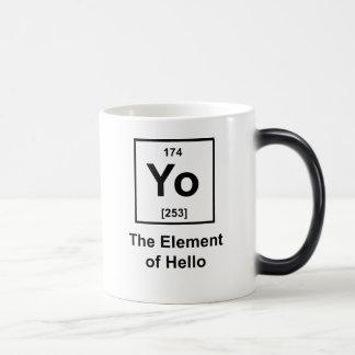 Yo! The Element of Hello Morphing Mug