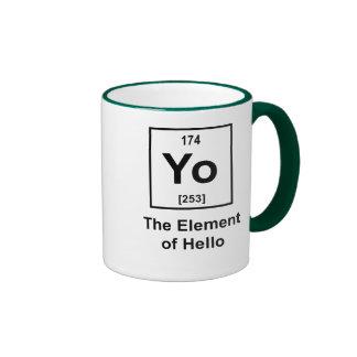Yo! The Element of Hello Ringer Mug