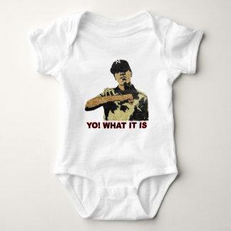 Yo! What it is. Hip Hop Baby Bodysuit