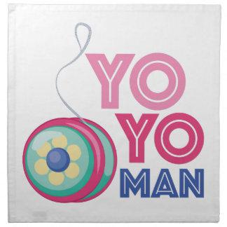 Yo Yo Man Cloth Napkin