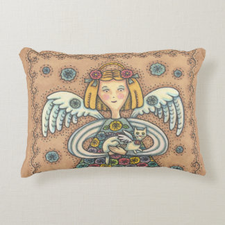 Yo Yo Quilt Angel ACCENT PILLOW