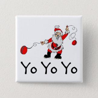 Yo Yo Yo 2 Inch Square Button
