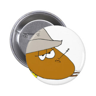 Yoakie the Pickled Egg is just Chillin 2 Inch Round Button
