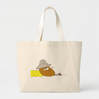 Yoakie the Pickled Egg is just Chillin Large Tote Bag
