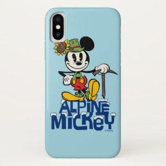 Yodelberg Mickey | Alpine Mickey iPhone X Case