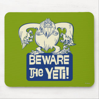 Yodelberg Mickey | Beware the Yeti Mouse Pad
