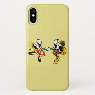 Yodelberg Mickey | Holding Hands iPhone X Case