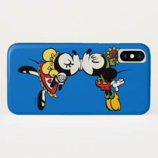 Yodelberg Mickey | Kissing iPhone X Case