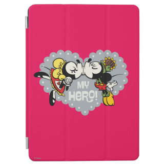 Yodelberg Mickey | Minnie and Mickey Kiss iPad Air Cover