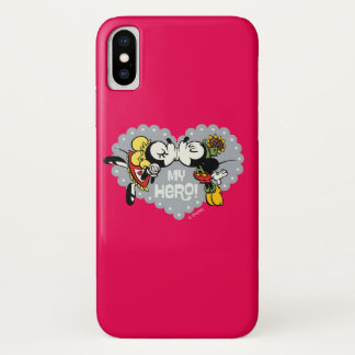 Yodelberg Mickey | Minnie and Mickey Kiss iPhone X Case
