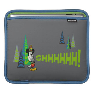Yodelberg Mickey | Shh iPad Sleeve