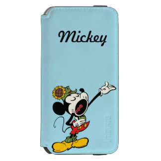 Yodelberg Mickey | Singing with Arm Up Incipio Watson™ iPhone 6 Wallet Case
