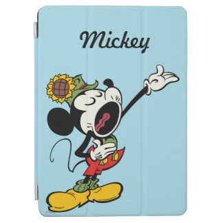 Yodelberg Mickey | Singing with Arm Up iPad Air Cover