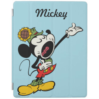 Yodelberg Mickey | Singing with Arm Up iPad Cover