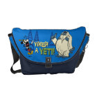 Yodelberg Mickey | Yikes - a Yeti! Courier Bag