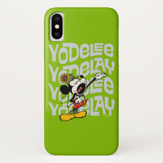 Yodelberg Mickey | Yodel iPhone X Case