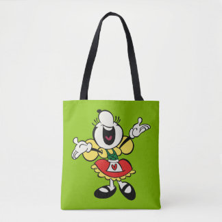Yodelberg Minnie | Singing with Arms Up Tote Bag