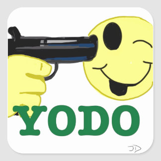 YODO SQUARE STICKER