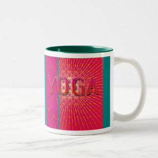 Yoga 1 - Mug, Cup Two-Tone Coffee Mug
