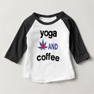 YOGA AND COFFEE BABY T-Shirt
