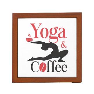 Yoga And Coffee Desk Organizer