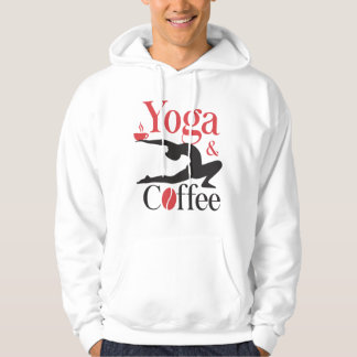 Yoga And Coffee Hoodie
