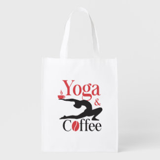 Yoga And Coffee Market Tote