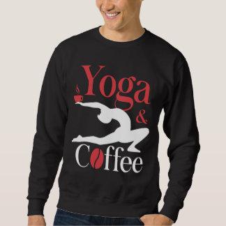 Yoga And Coffee Sweatshirt