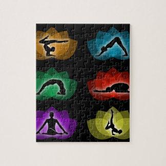 yoga and meditation jigsaw puzzle