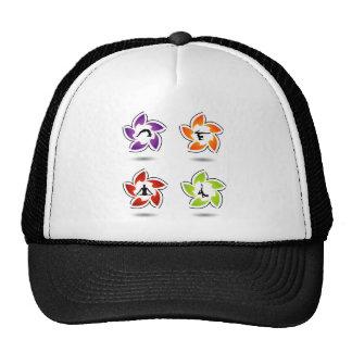 yoga and meditation trucker hat