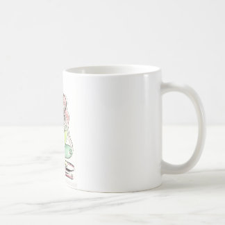 Yoga Art - Spinal Twist Coffee Mug
