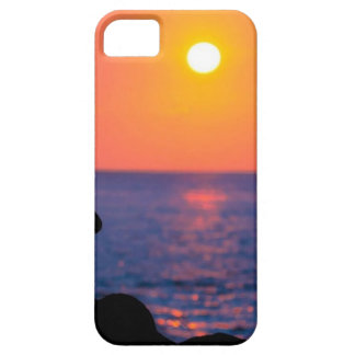 Yoga at Sundown Iphone Case
