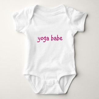 """Yoga Babe"" Baby Tee"