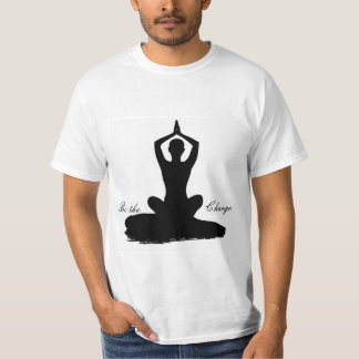 Yoga Be the Change T-Shirt